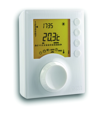 Thermostat programmable filaire Tybox 117