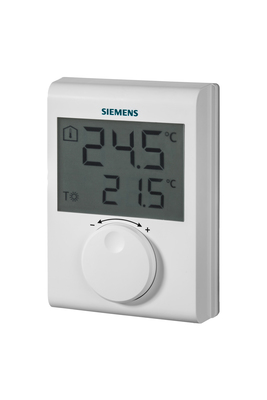 Thermostat d'ambiance avec afficheur LCD RDH100