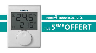 Pack 4+1 Thermostat d'ambiance RDH100